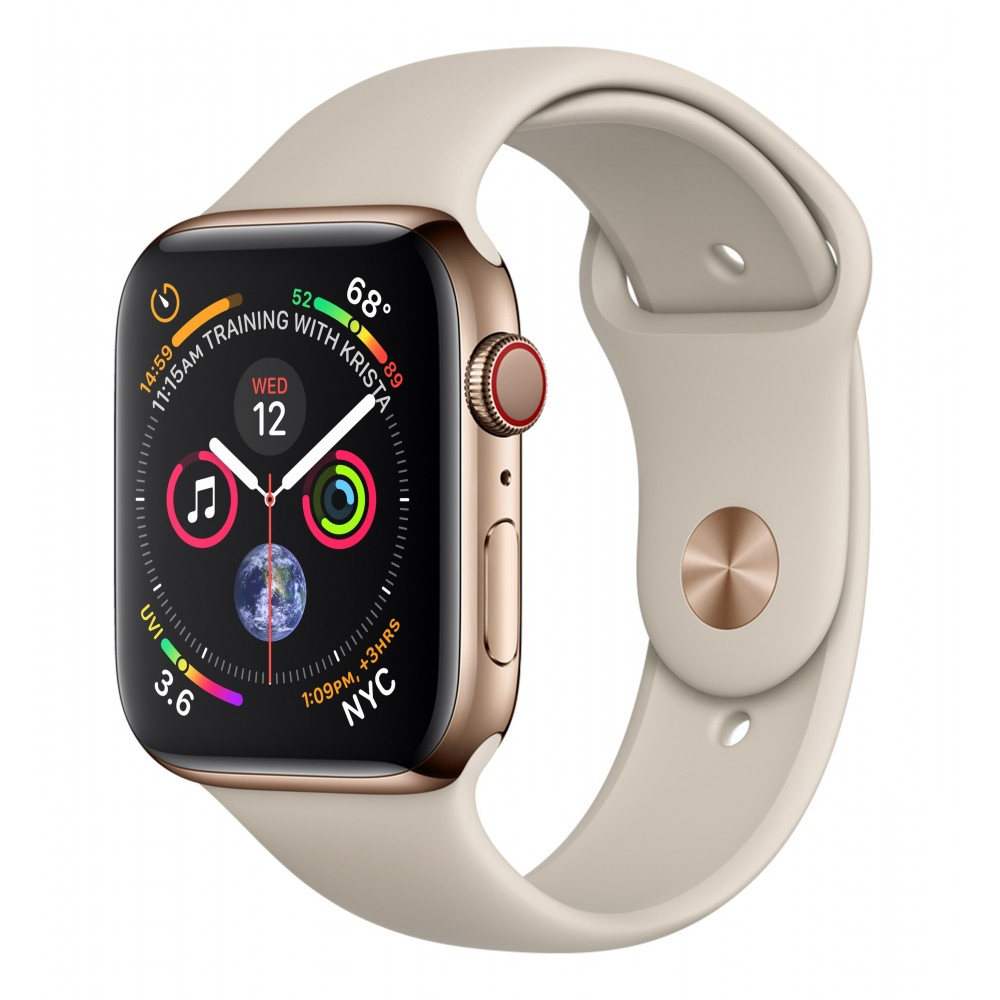 Apple Watch Series 4 GPS + Cellular 44mm Gold Open Box