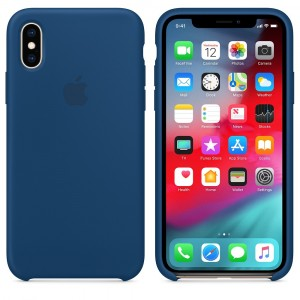 Apple Case iPhone XS Blue Open Box