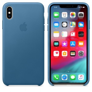 Apple Case iPhone XS Max Blue Open Box